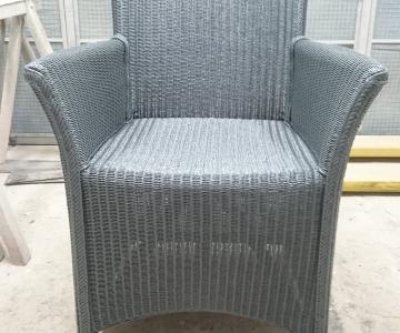 Lloyd loom stoel