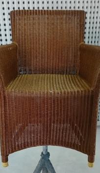 Lloyd loom stoel spuiterij rood for Loom stoelen