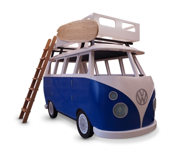Volkwagen bus bed