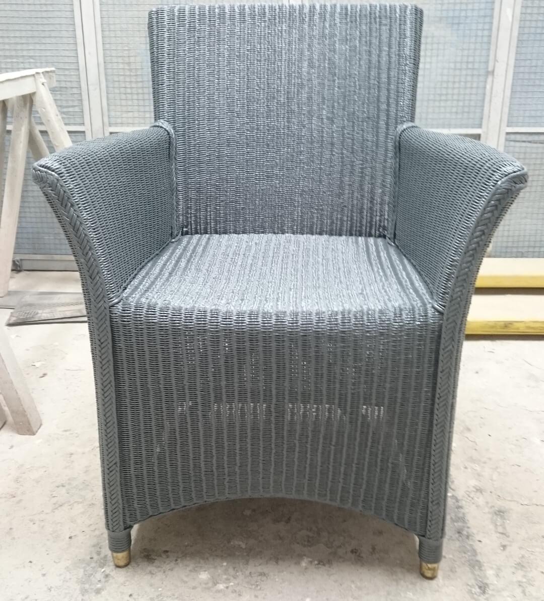Lloyd loom stoelen spuiterij rood for Loom stoelen
